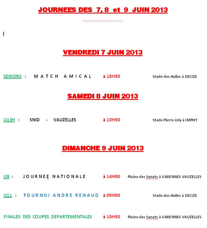 Agenda 7,8 et 9 Juin  13-06-07-agenda